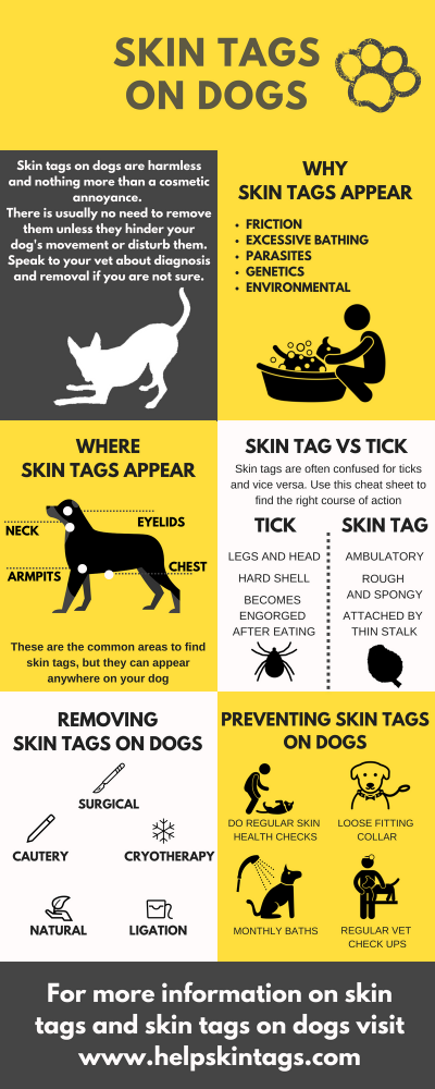 Skin tags on dogs